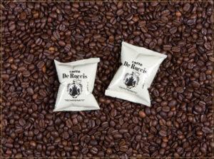 coffe capsules pods italian espresso De rOCCIS CAPSULE E CIALDE caffè