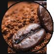 caffè macinato de roccis per espresso