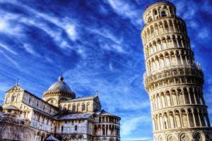 italian espresso De Roccis coffee Pisa tower