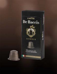Caffè De Roccis capsule compatibili nespresso cremoso