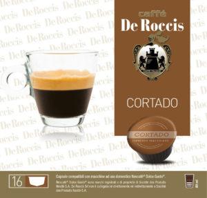 capuccino caffè coffee de roccis in capsule