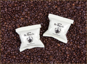 cielde e capsule de roccis caffè italian espresso coffee