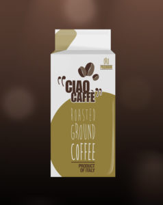 De Roccis Ciao Caffe Premium roasted ground cofee for coffee vending machines