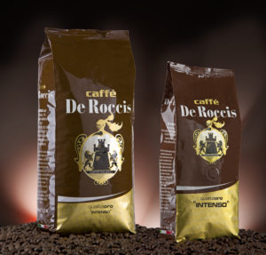 De Roccis_Intenso_1+500 wholesale coffee beans wholesale blend for importers and distributors grains beans