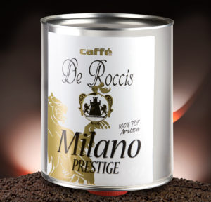De Roccis Prestige best coffee beans wholesale coffee luxury italian espresso