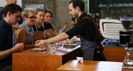International Coffee Expo Melbourne caffè de roccis